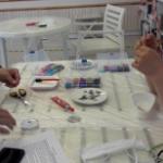 warsztaty z robienia bransoletek w czytelni pod sowami - materiały do warsztatów