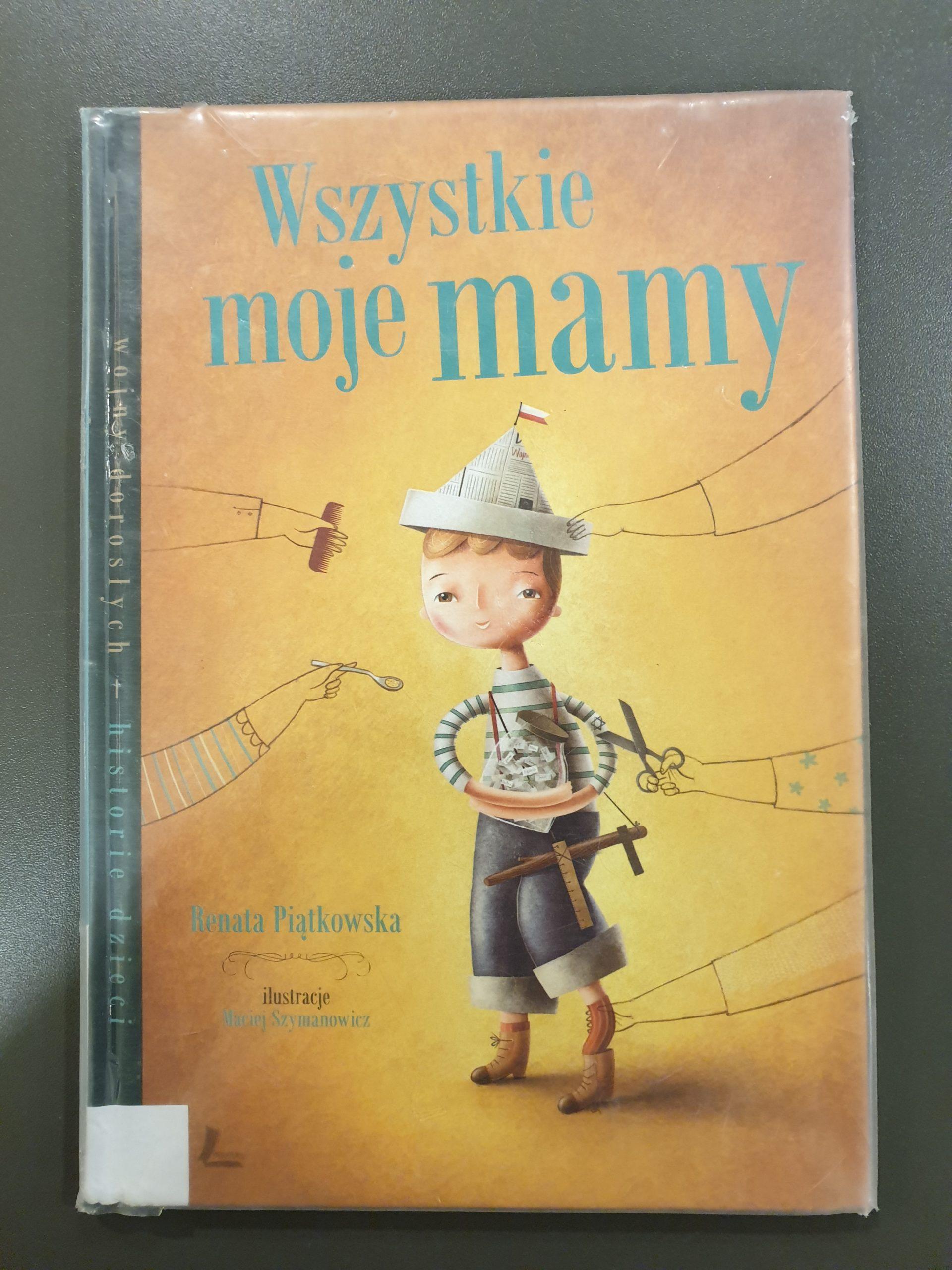 Okładka książki pod tytułem Wszystkie moje mamy