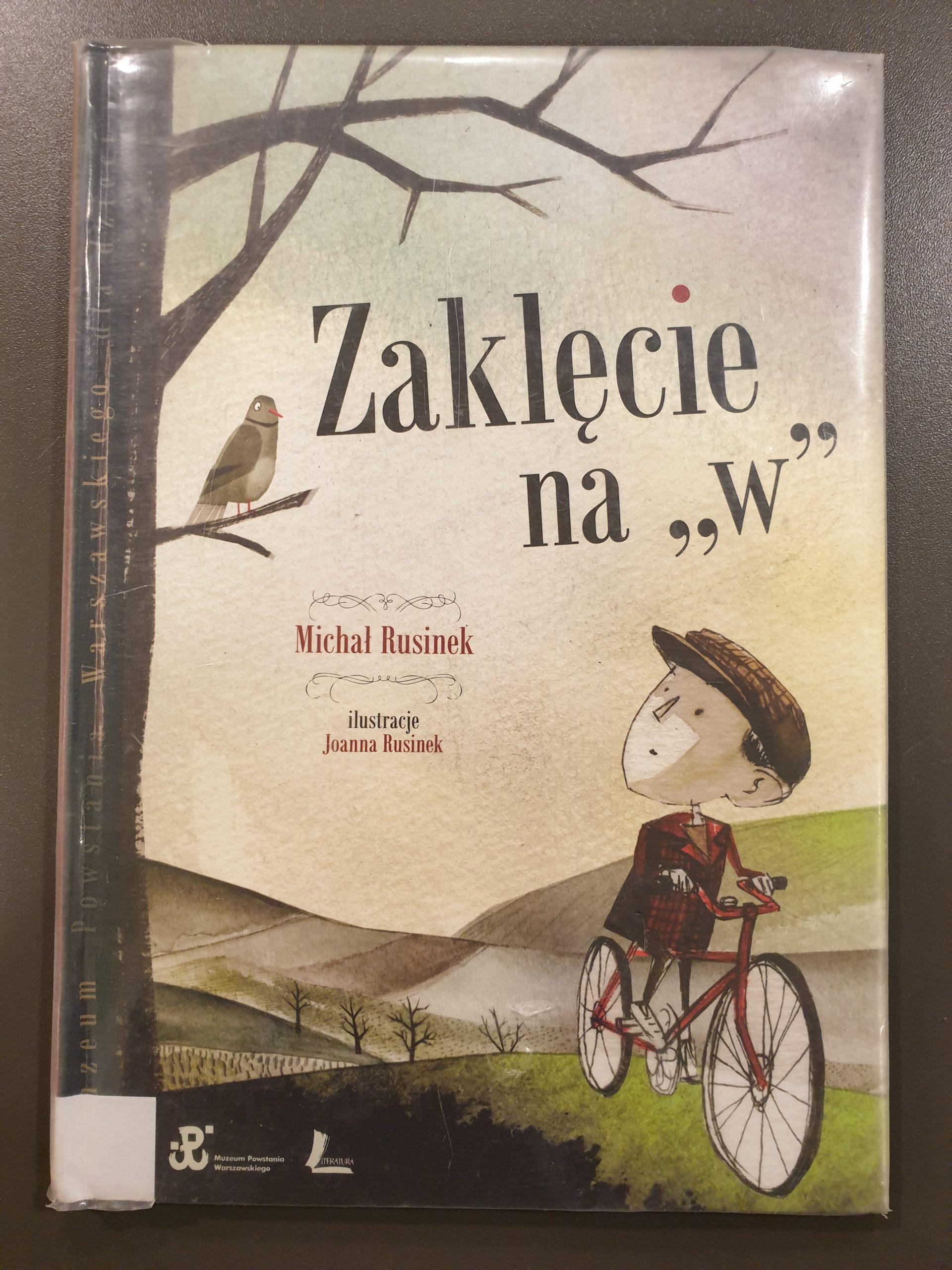 """Okładka książki pod tytułem Zaklęcie na """"W"""""""