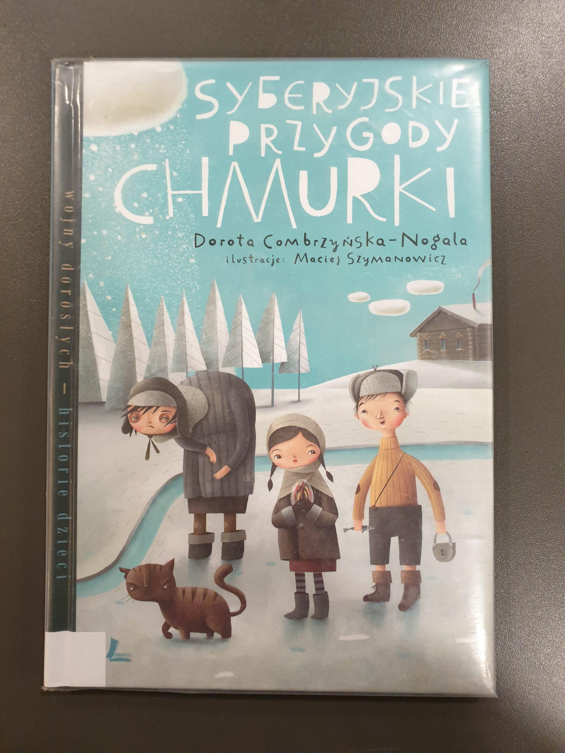 Okładka książki pod tytułem Syberyjskie przygody Chmurki