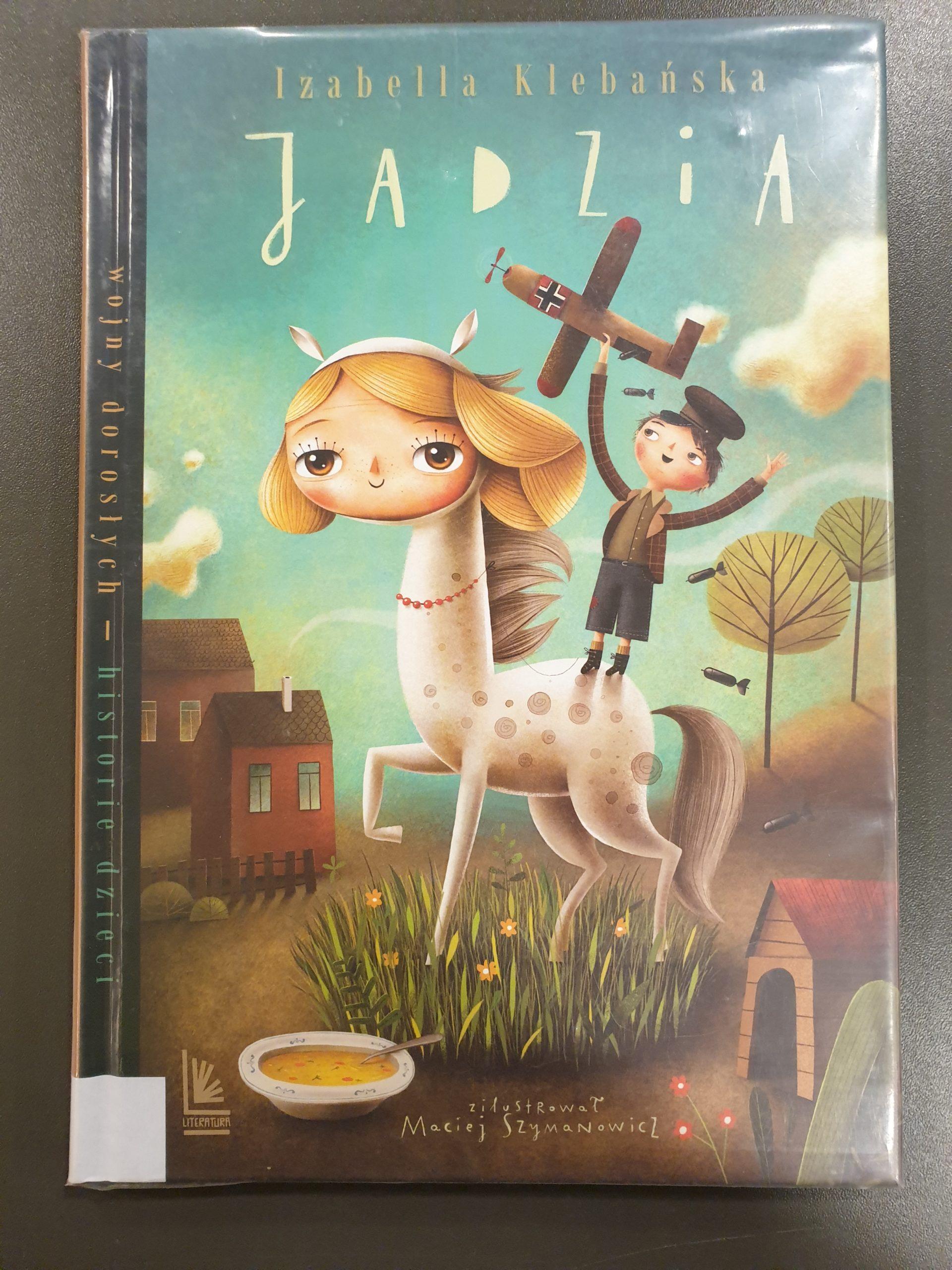 Okładka książki pod tytułem Jadzia