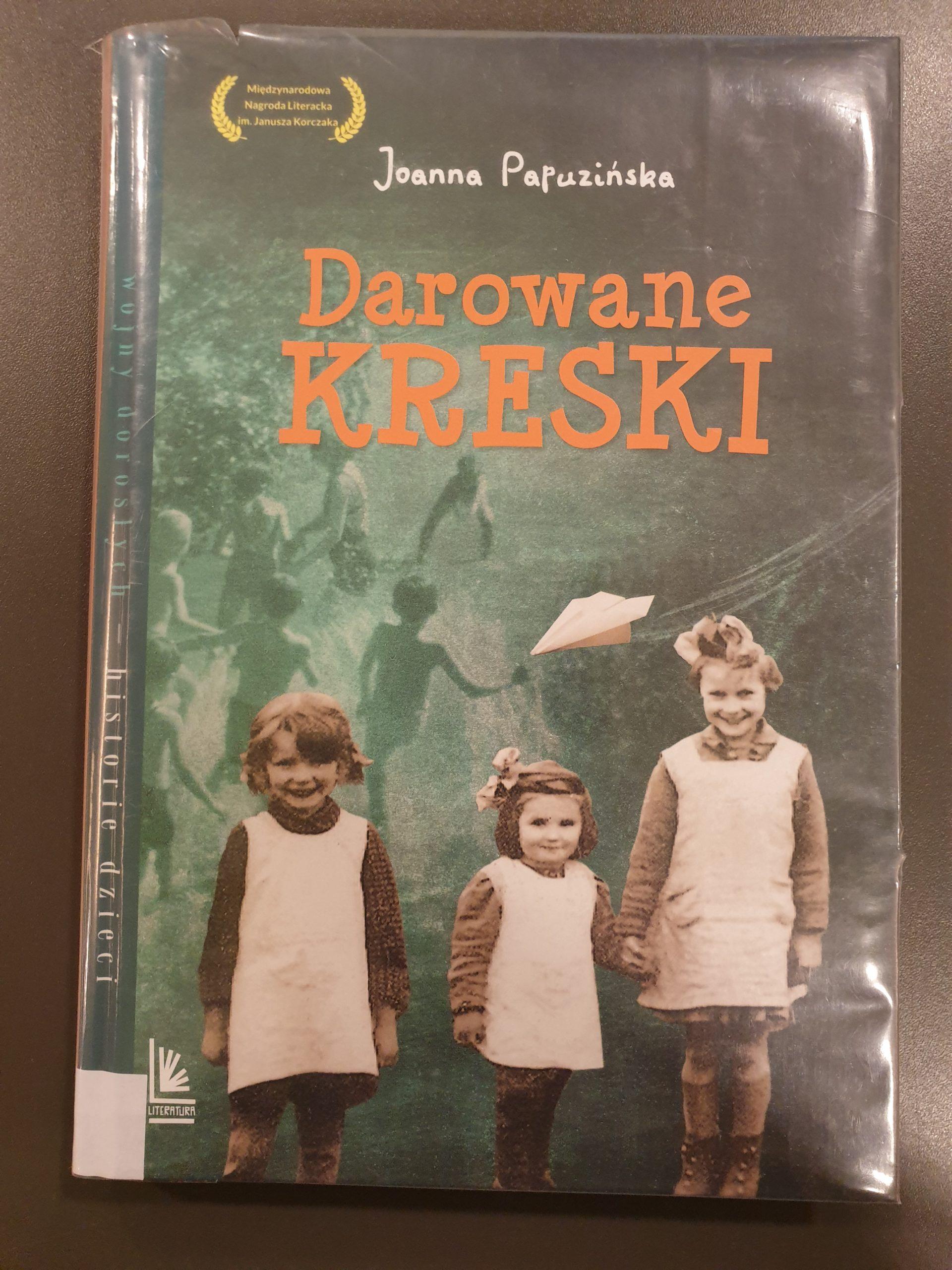 Okładka książki pod tytułem Darowane kreski