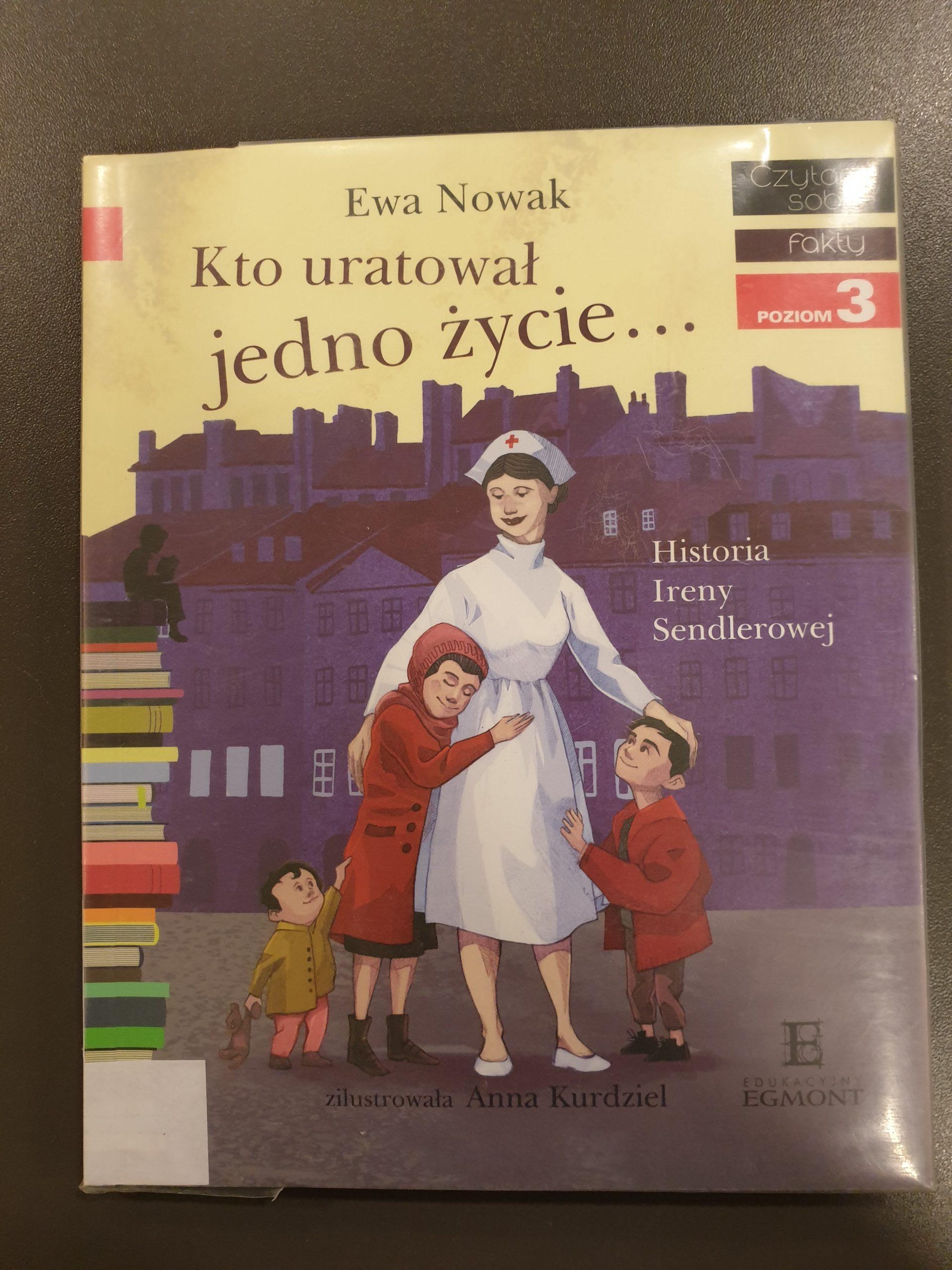 Okładka książki pod tytułem Kto uratował jedno życie