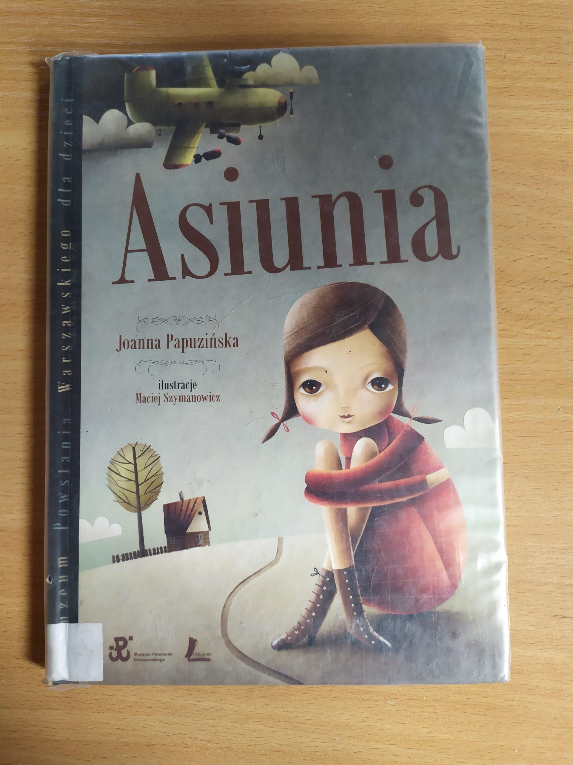 Okładka książki pod tytułem Asiunia