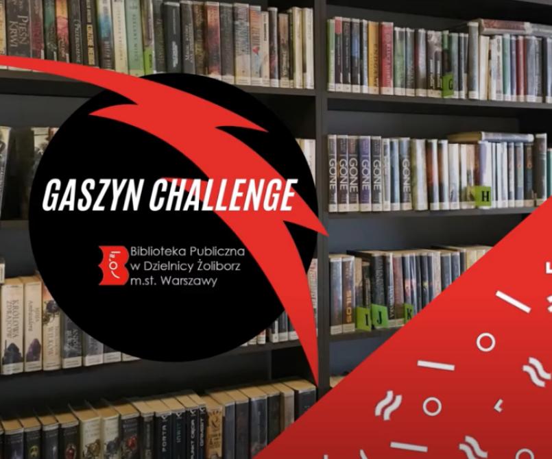 plakat reklamowy gaszyn challenge