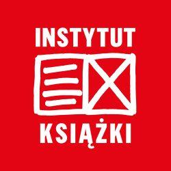 Czerwone logo instytutu książki