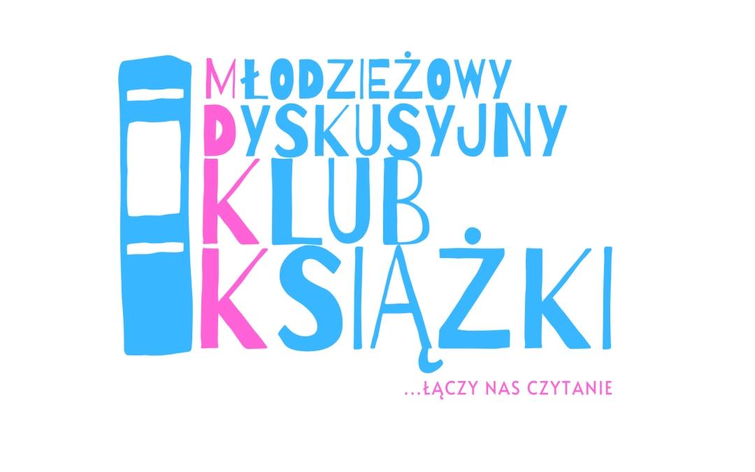 Logo młodzieżowego dyskusyjnego klubu książki