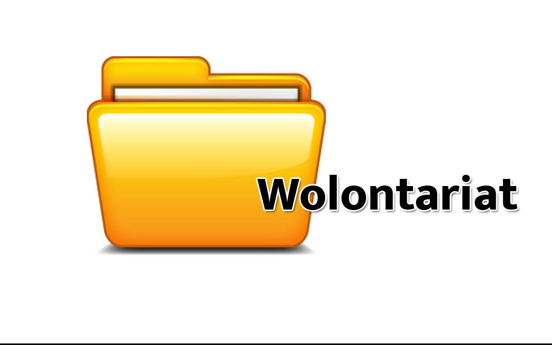 Ikona dokumentów dla wolontariatu