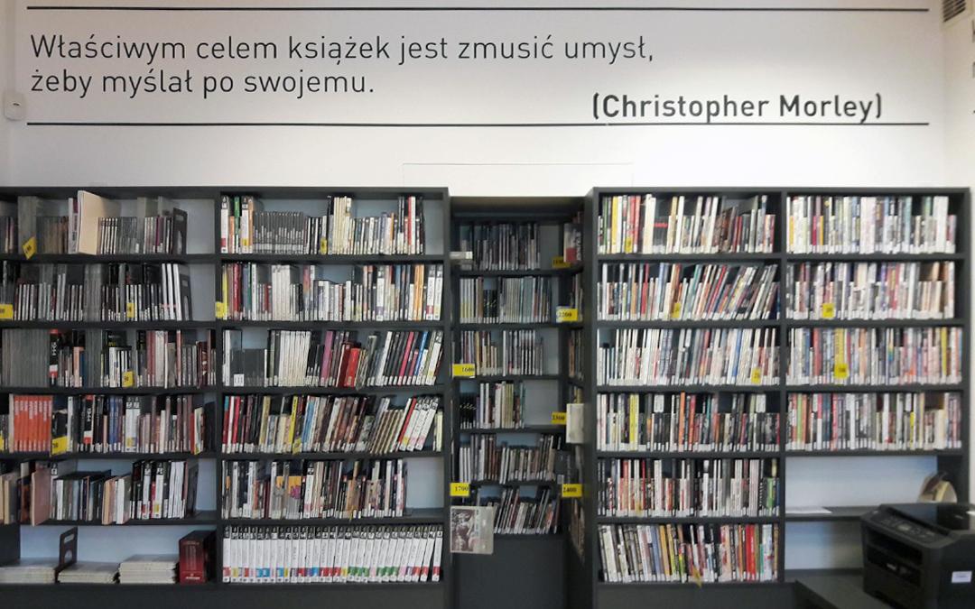zbiory audiobooków w czytelni naukowej nr 16