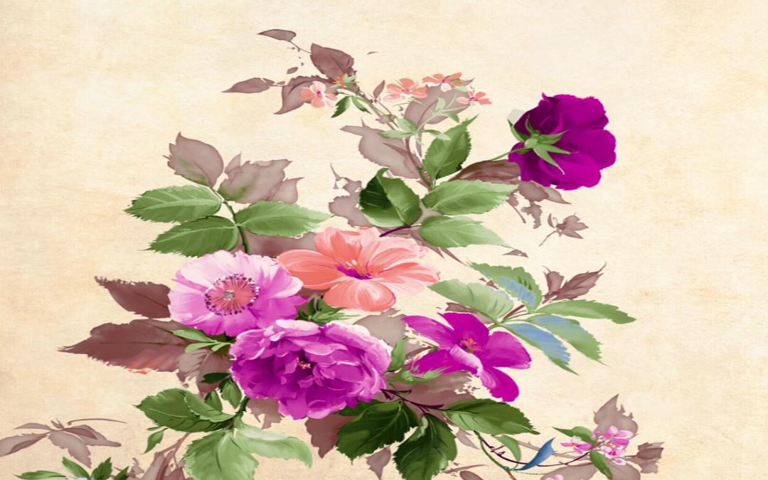 Obrazek wyróżniający. Na nim bukiet kwiatów