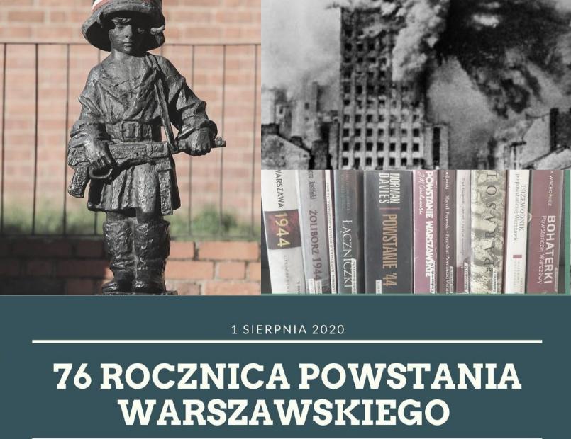 kolaż zdjęć - rocznica wybuchu Powstania Warszawskiego