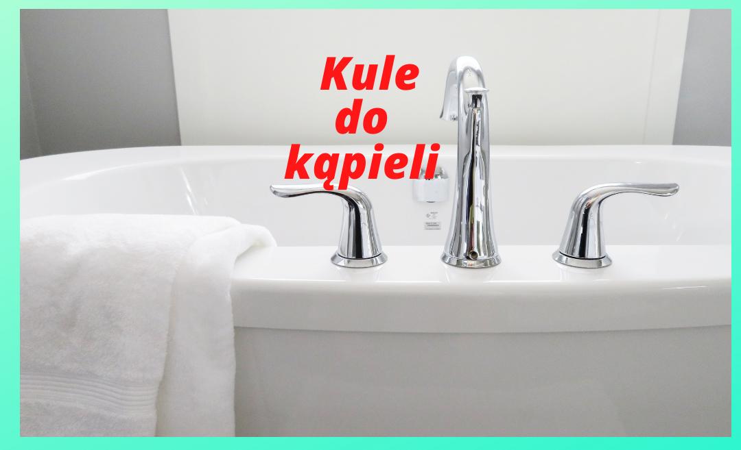 plakat wyróżniający - kule do kąpieli