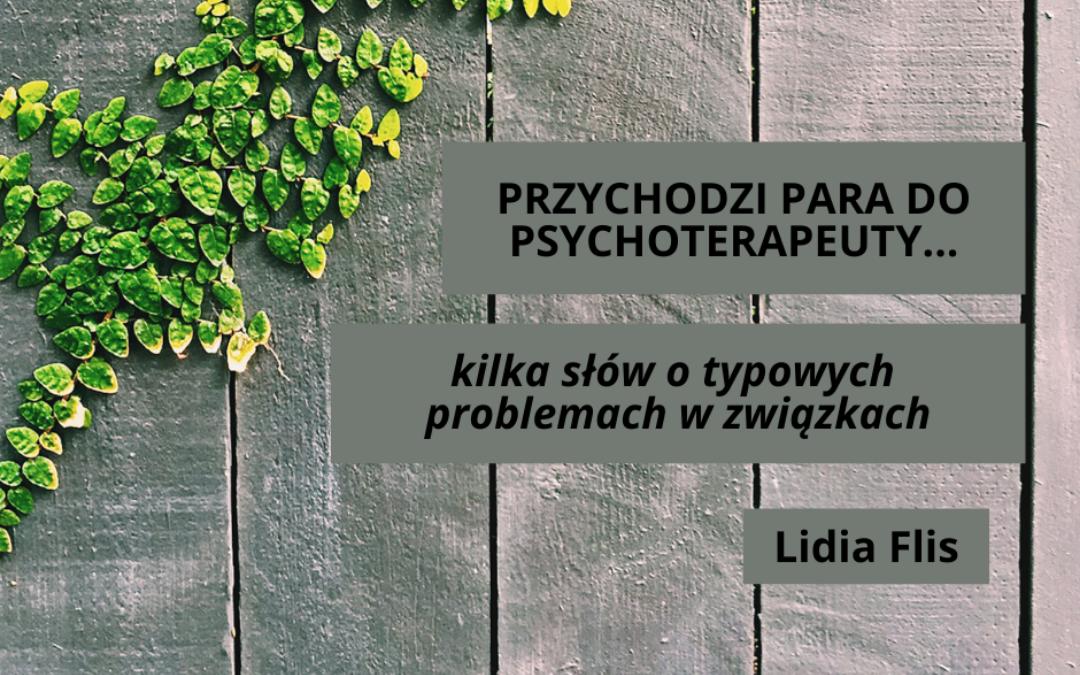 slajd tytułowy do prezentacji o problemach w związkach