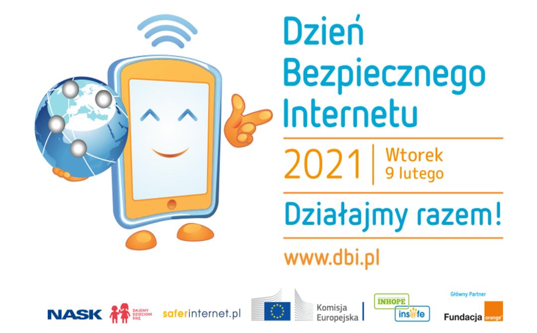 Plakat reklamujący Dzień Bezpiecznego Internetu