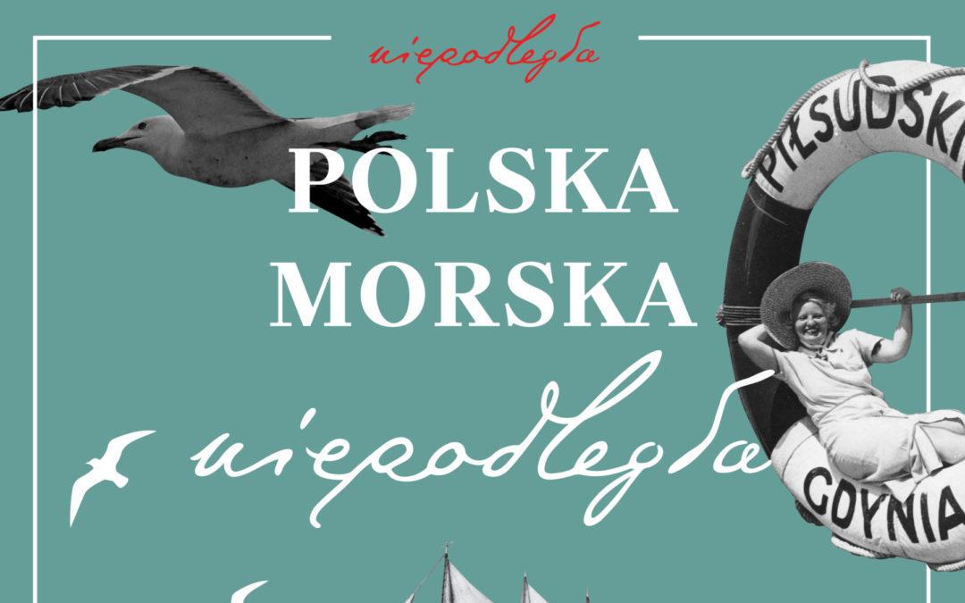 Plansza z wystawy Polska morska