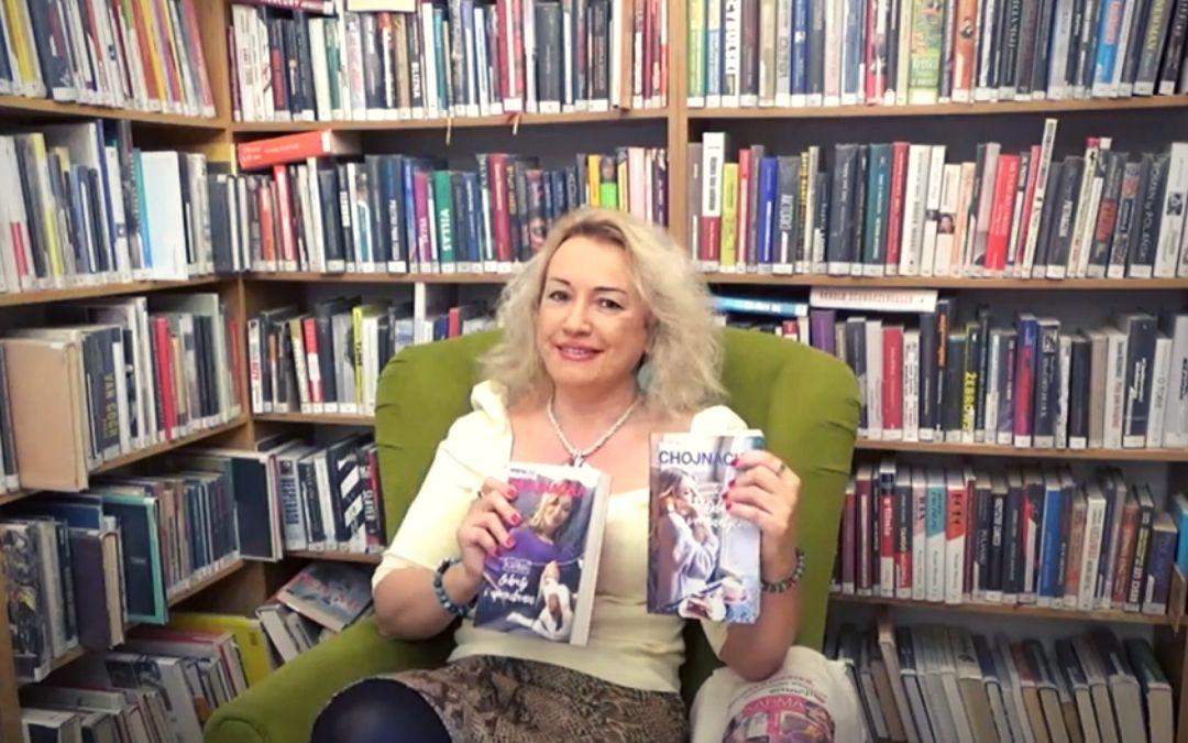 zdjęcie przedstawiające autorkę książek obyczajowych z serii Karma Panią Malwinę Chojnacką