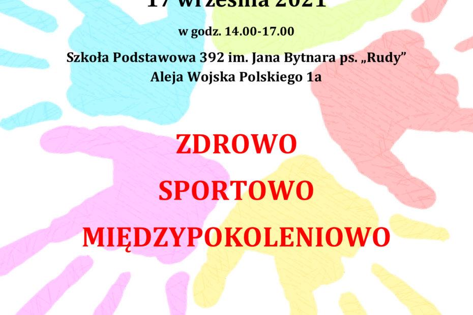 zaproszenie na spotkanie plenerowe 17 09 2021
