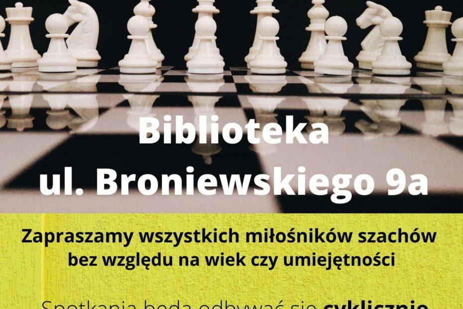 grafika wyróżniająca - zachęcająca do udziału w kółku szachowym